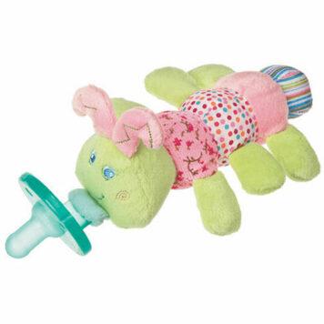 "Cutsie Caterpillar WubbaNub Pacifier-6"""