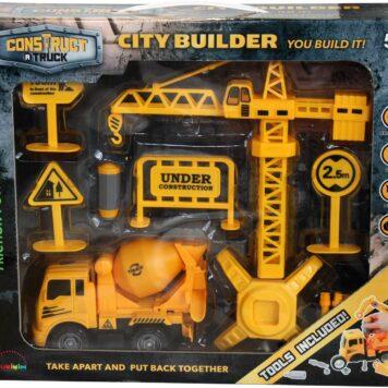 Construct A Truck - City Builder Mixer