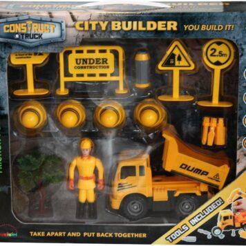 Construct A Truck - City Builder Dump