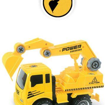 Construct A Truck - Excavator