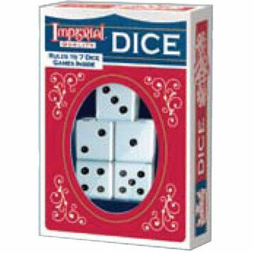 Imperial Dice - White 5pc