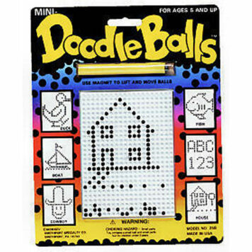 Magnetic Doodle Balls (revised)