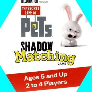 Secret Life of Pets Shadow Matching Game