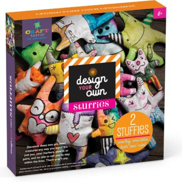 Craft-tastic Design-Your-Own Stuffies