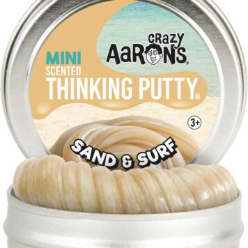 "Crazy Aaron's Sand & Surf Scented Thinking Putty 2"" Tin"