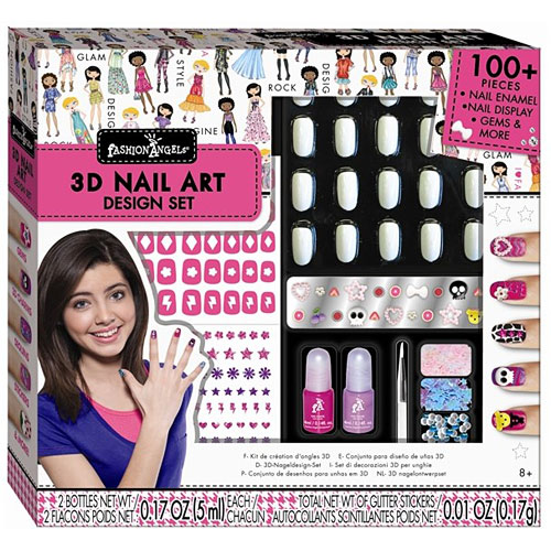 Fashion Angels 3d Nail Design Set Awesome Toys Gifts