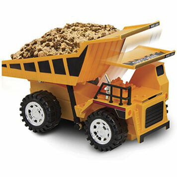Kid Galaxy Remote Control Dump Truck. 5 Function Toy Construction Vehicle