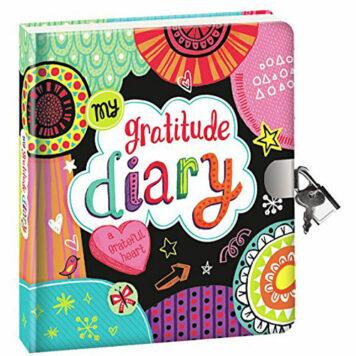 Peaceable Kingdom My Gratitude Lock and Key Diary