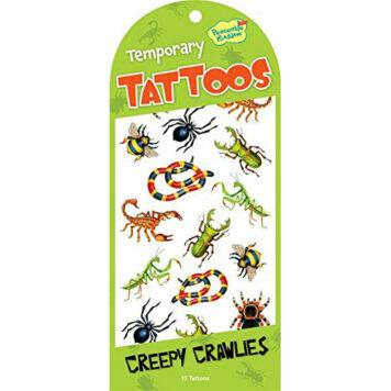 Peaceable Kingdom Creepy Crawlies Temporary Tattoos