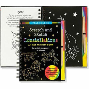 Constellations Scratch & Sketch (Art, Activity Kit) (Trace-Along Scratch and Sketch)