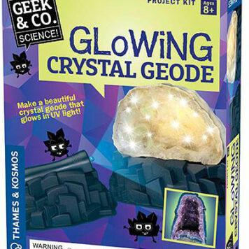 Glowing Crystal Geode