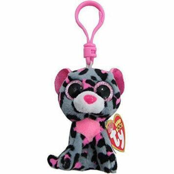 Ty Beanie Boos Tasha - Leopard Clip
