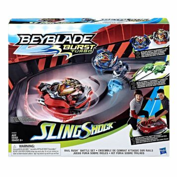 BEY : Burst Turbo Slingshock Rail Rush Battle Set