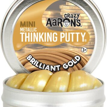 "Brilliant Gold 2"" Tin"