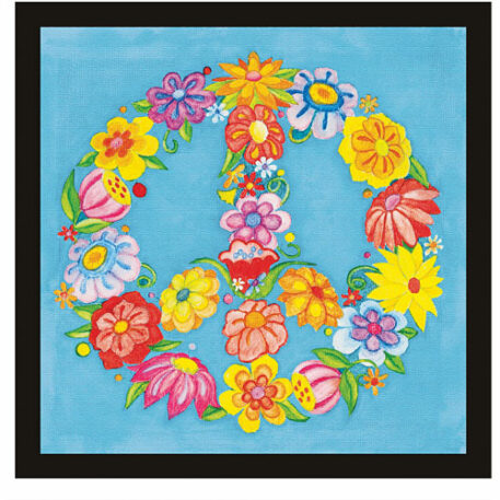 Paint By Number Peace Sign