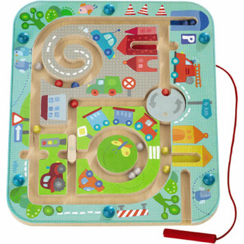 Magnetic Game Town Maze