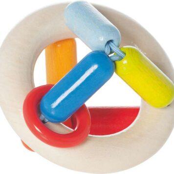 Clutching Toy Rainbow Round