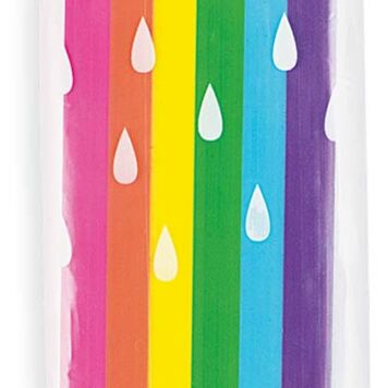 Jumbo Rainbow Scented Erasers - Display of 15
