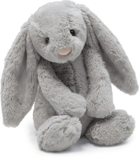 Bashful Grey Bunny Medium