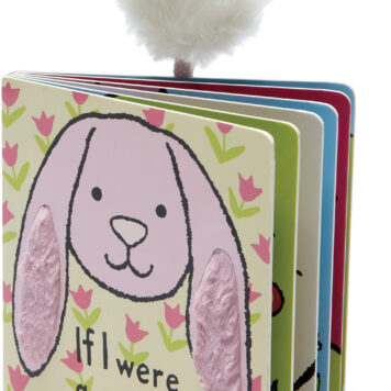 If I Were a Rabbit Book (Tulip Pink)