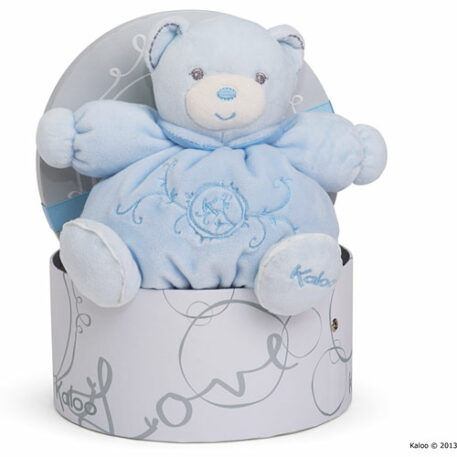 Perle - Small Chubby Bear Blue