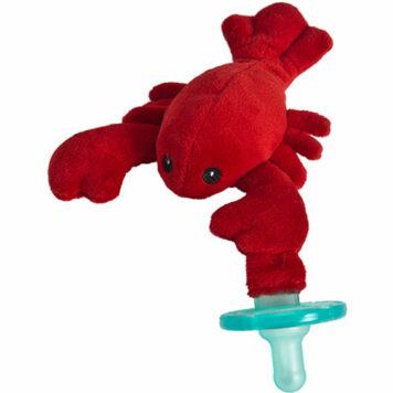 "Lobbie Lobster WubbaNub Pacifier-6"""
