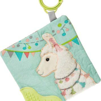 "Lily Llama Crinkle Teether - 6x6"""
