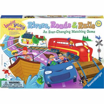 Rivers, Roads & Rails