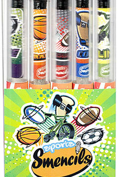Sports Smencils 5-Pack