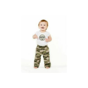 Sticky Bellies Baby Month Stickers - Little Trooper