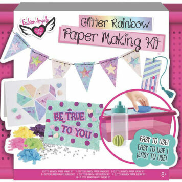 Glitter Rainbow Paper Making Kit