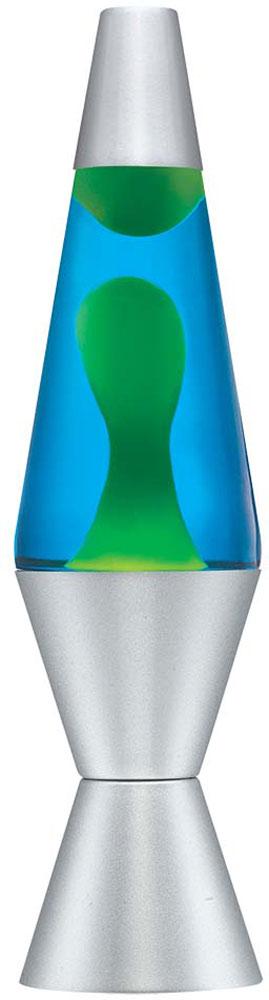 "Lava Lamp - 14.5"" Blue/Yellow"