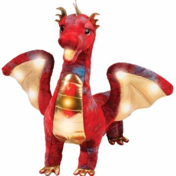 Douglas Kazra Light & Sound Dragon - Red