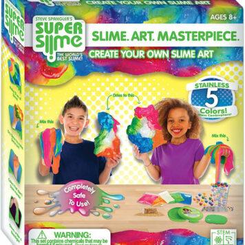 Slime. Art. Masterpiece. Kit