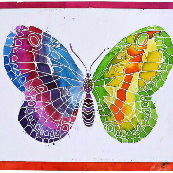 Aquarellum Junior - Butterflies