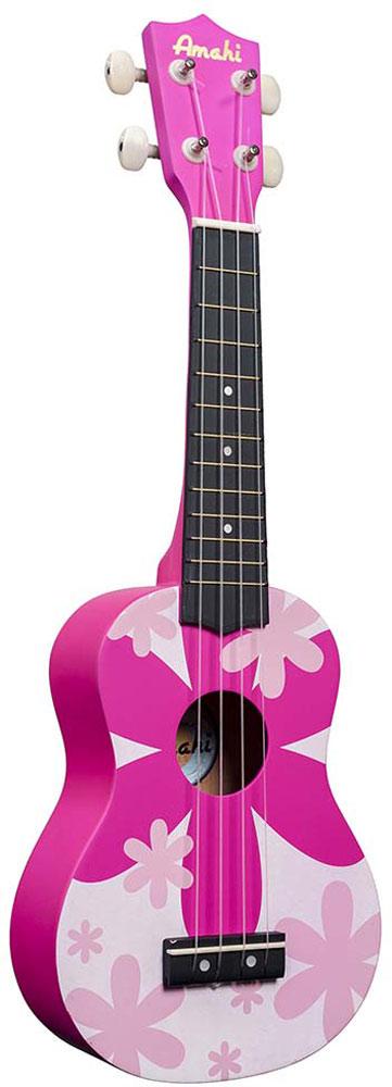 Amahi Ukulele - Pink Flower