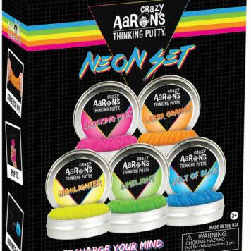 Crazy Aaron's Thinking Putty Neon Set