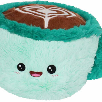 "Squishable Mini Latte with Heart- 7"""