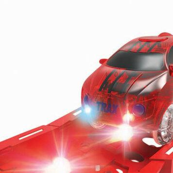 LED Twister Tracks Racer - Red