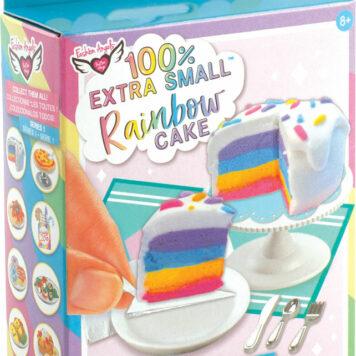 Fashion Angels 100% Extra Small Mini Clay Kit - Rainbow Cake