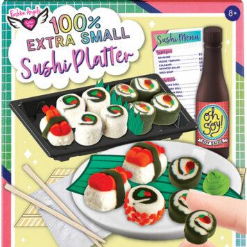 Fashion Angels 100% Extra Small Mini Clay Kit - Sushi Platter