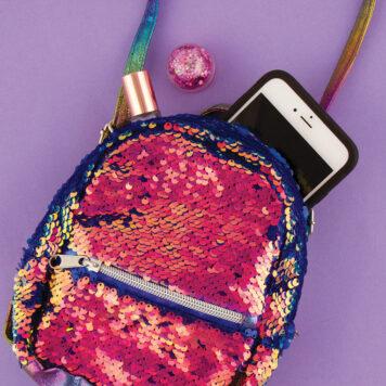 Fashion Angels Magic Sequin Micro Mini Backpack/X-Body