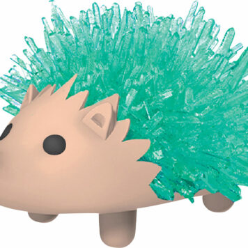Crystal Hedgehog Green