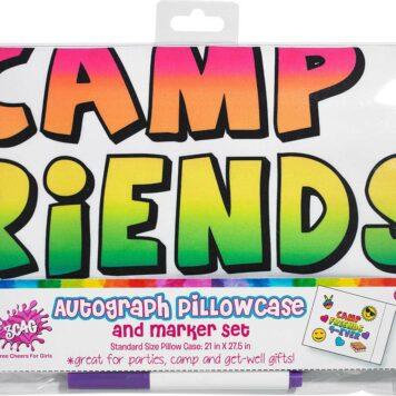 Camp Friends Forever Autograph Pillowcase