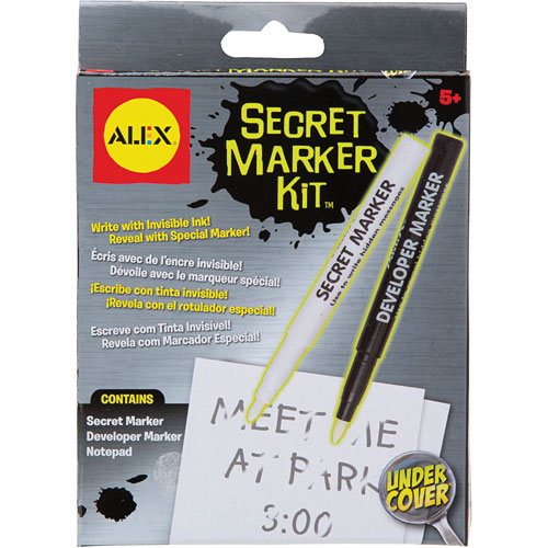 ALEX Toys Secret Marker Kit