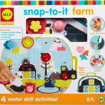 ALEX Discover Snap-to-it Farm