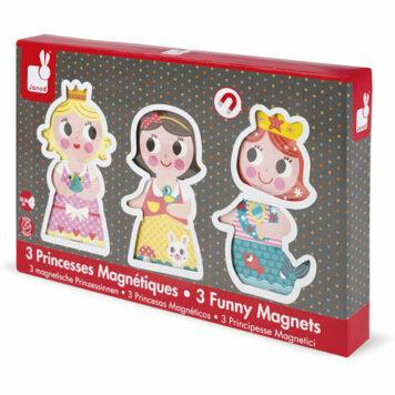 Janod Funny Magnets-Princesses