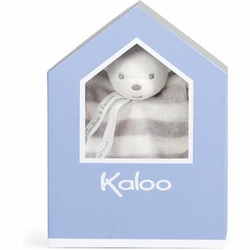 Kaloo Bebe Pastel Doudou Bear-Grey and Cream