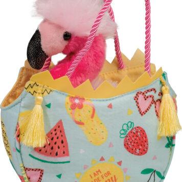 Summerlicious Sak W/Flamingo
