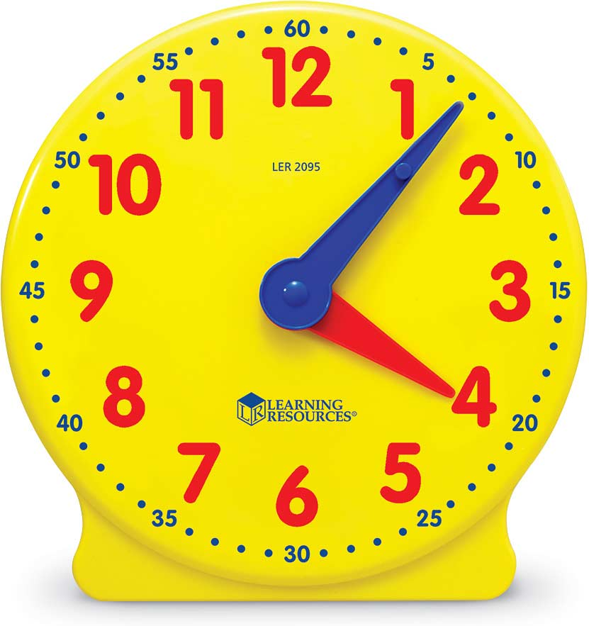 "Big Time 5"" Student Clock"